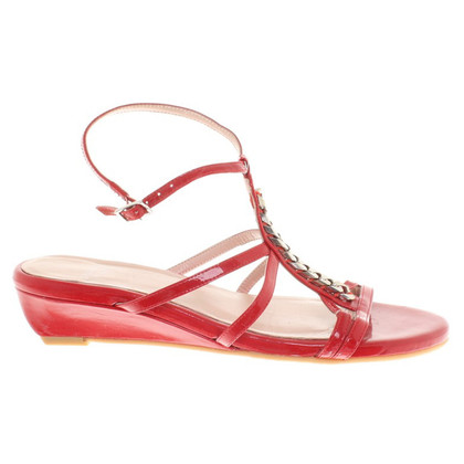Stuart Weitzman Sandals of patent leather