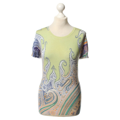 Etro Jersey top with print