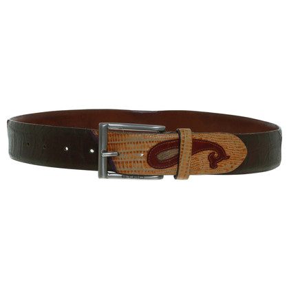 Etro Belt with applications