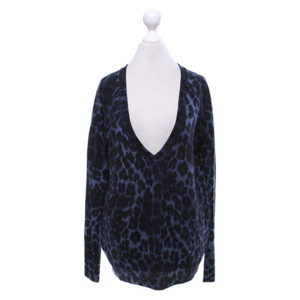 Juicy Couture Sweater in blue / black