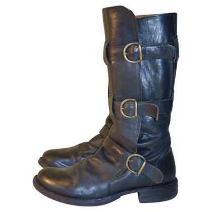 Fiorentini & Baker Biker boots in zwart