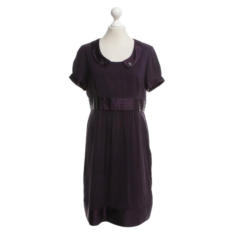 Paarse Schoudertassen : Burberry paarse jurk koop tweedehands