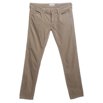 Isabel Marant Etoile Corduroy trousers in beige