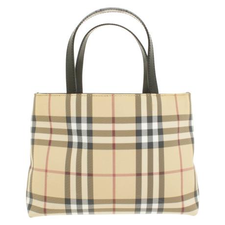 Freies Verschiffen Billig Burberry Handtasche mit Nova-Check-Muster Bunt / Muster Billig Verkauf Zu Kaufen Bekommen Hohe Qualität Günstig Online VPso5lrX