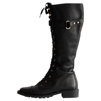 Max Mara leather boots