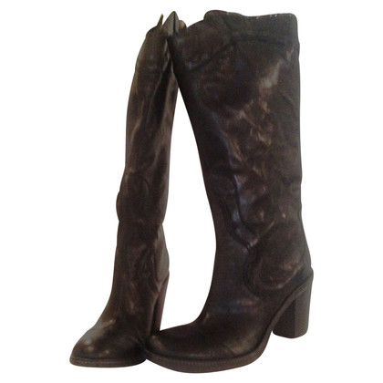 Other Designer Vic Matie - Black leather boots