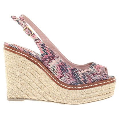 Missoni Wedges of jute