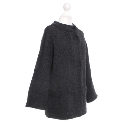 Bruno Manetti Strickjacke in Grau