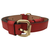 Carolina Herrera Belt in red