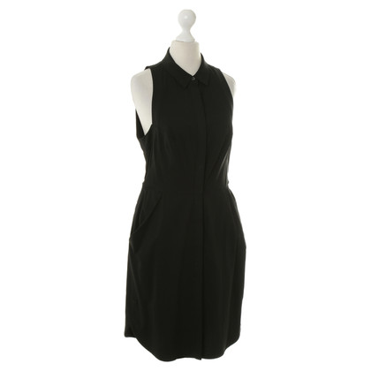 All Saints Blusenkleid in Schwarz