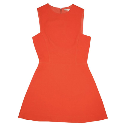 Victoria Beckham Robe fourreau de piste en orange