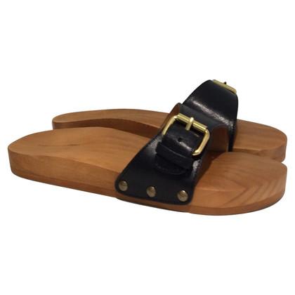 Isabel Marant Etoile sandali di legno