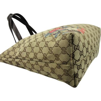 Gucci Tote Bag aus GG Supreme Canvas