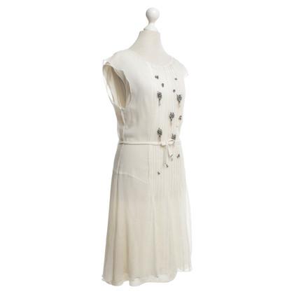 Schumacher Exposed dress in cream