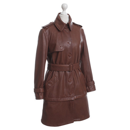 Philosophy di Alberta Ferretti Ledertrenchcoat