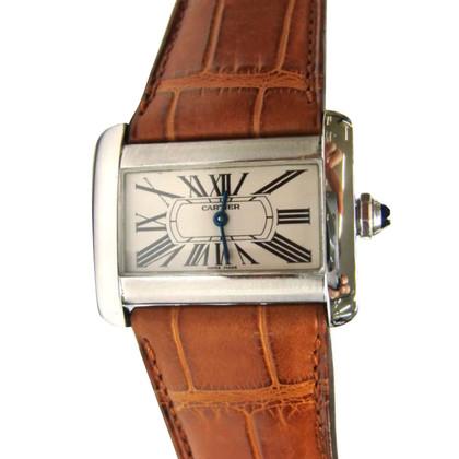 """Cartier Clock """"Tank Divan"""""""
