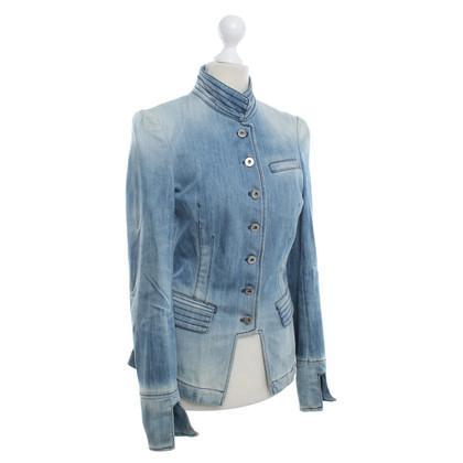 Dondup Blauwe jeans Blazer