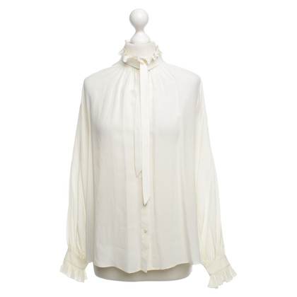 Closed Blouse met ruches in crème