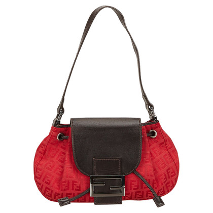 Fendi Fendi Jacquard Zucchino Handbag