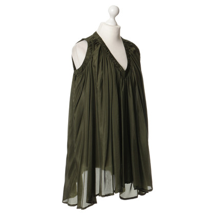 Donna Karan Dress in olive green