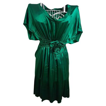 Parosh Dress in green
