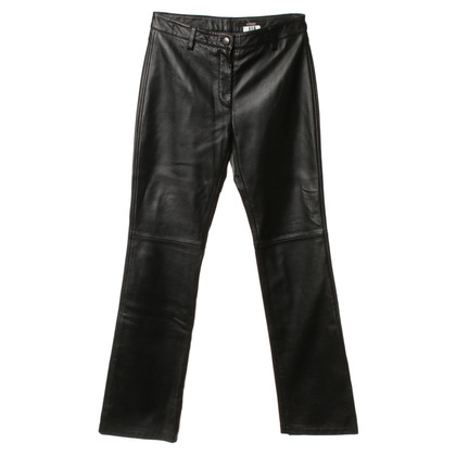 Ferre Leather pants in black