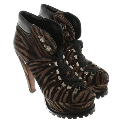 Alaïa Boots with animal print