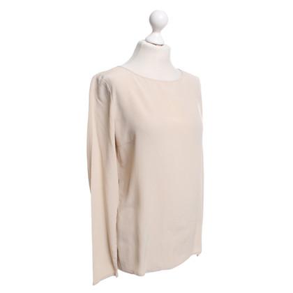 Patrizia Pepe camicetta di seta in crema
