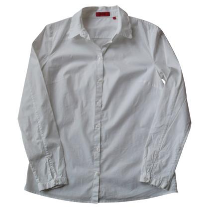 Hugo Boss Blouse met overhemd in wit