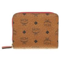 MCM Portemonnaie mit Monogramm