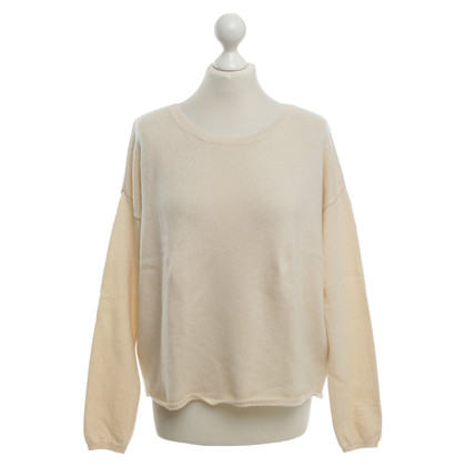 Allude Cashmere sweater in cream