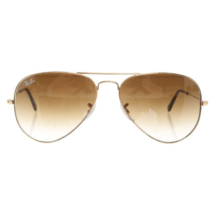 Ray Ban Occhiali da sole aviator color oro