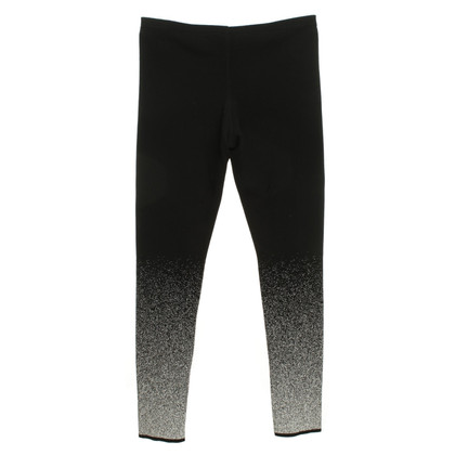 Marc Cain Leggings in zwart / White