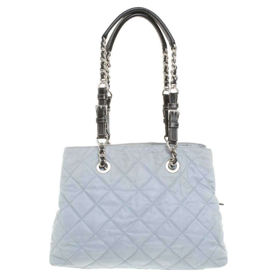 prada handbag in grey buy second hand prada handbag in grey for. Black Bedroom Furniture Sets. Home Design Ideas