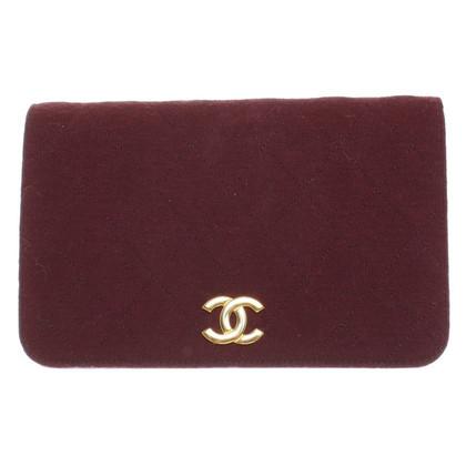 Chanel Schultertasche in Bordeaux