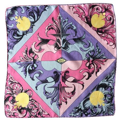 Versace motifs écharpe de soie