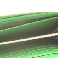 Marc Jacobs clutch in neon green
