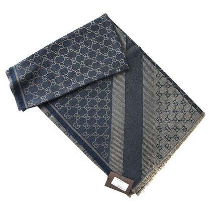 Gucci Guccissima-cloth in blue / beige