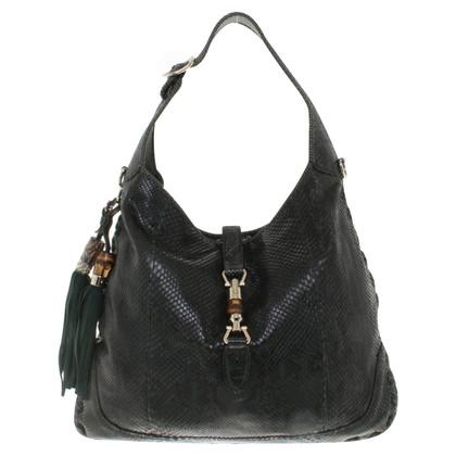 """Gucci """"Jackie O Bag"""" Python Leather"""
