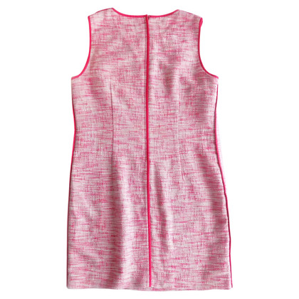 DKNY Tweed-Kleid in Pink