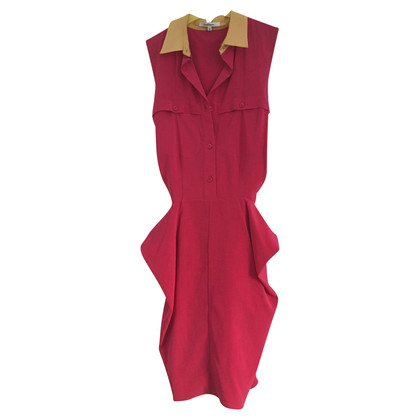 Carven Summer dress in fuchsia