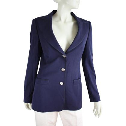Escada Blue blazer in new wool
