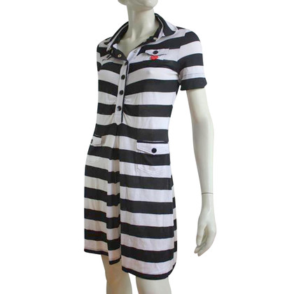 Moschino Dress in black / white