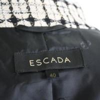 Escada Blazer is black and off white