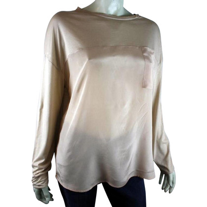 Drykorn Silk top in salmon pink