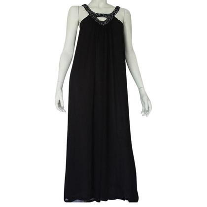 Antik Batik Maxi jurk in zwart
