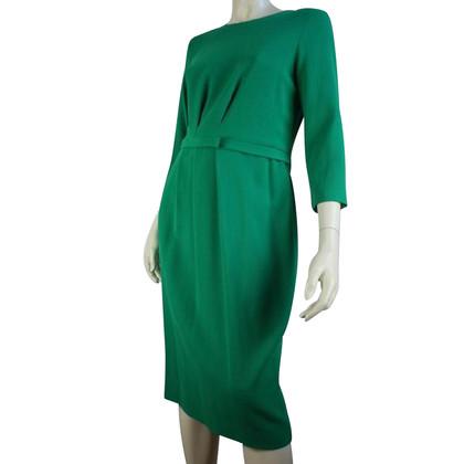 Goat Apple green wool dress