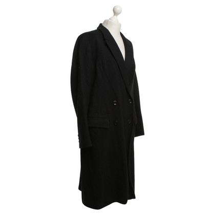 Dries van Noten Coat in black