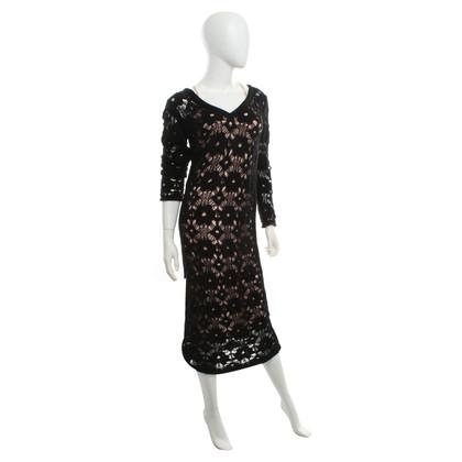 Twin-Set Simona Barbieri Lace dress in maxi length