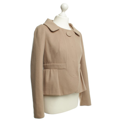 Paule Ka Jacket in light brown